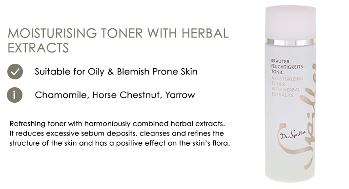 Moisturizing Toner with Herbal Extracts